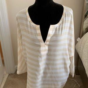 Ann Taylor Loft Long Sleeve Blouse.